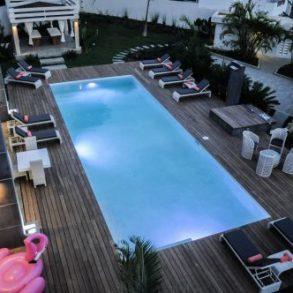 Moderne Luxusvilla der extraklasse mit gutem Meerblick