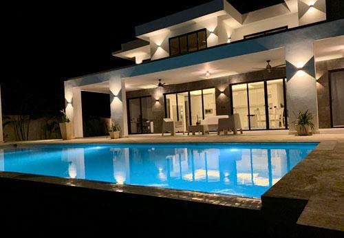 Moderne Villa mit Meerblick zwischen Sosua und Cabarete