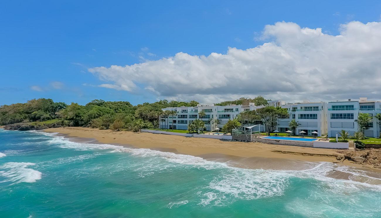 Atemberaubendes Penthouse am Strand mit 5 Schlafzimmern