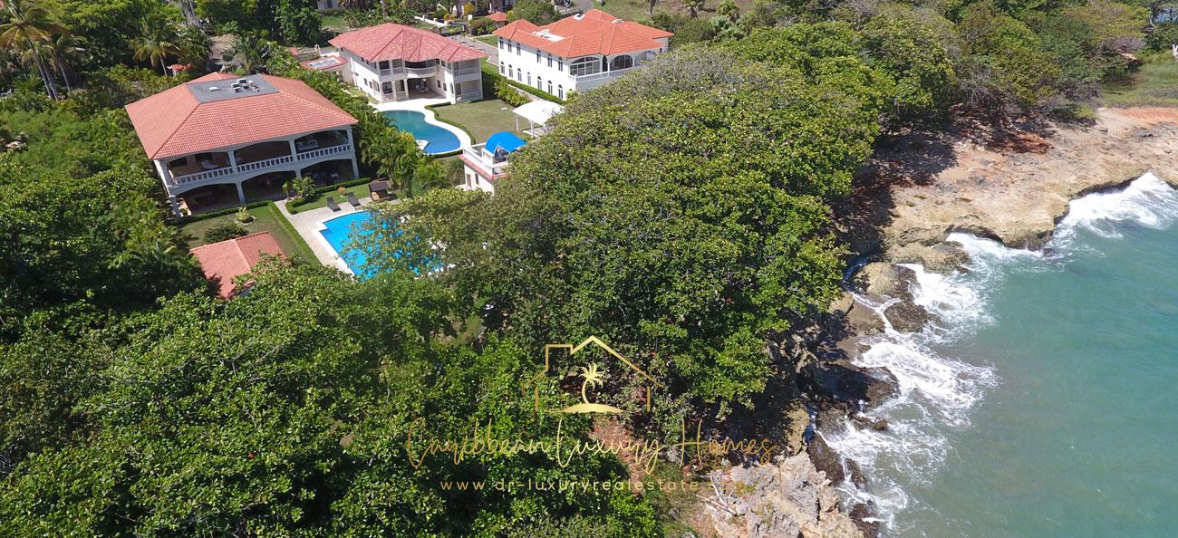 Strandvilla zu verkaufen in einer gesicherten Anlage