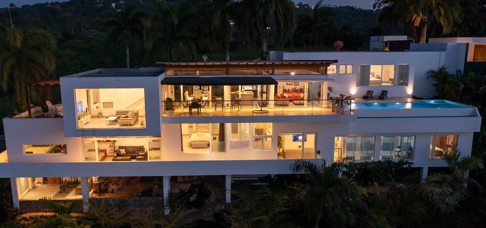 Exklusive Villa mit Meerblick zum Verkauf in Las Terrenas